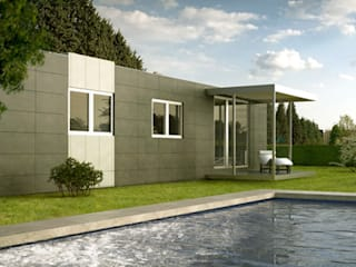Prefabricated home by Casas Cube, Modern