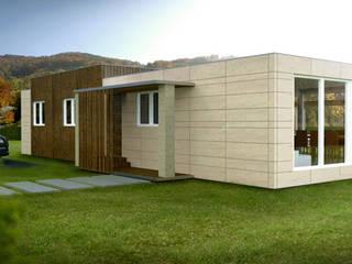 Casa Cube de 150 m2 Casas Cube Casas modernas