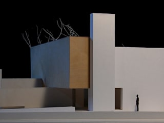 casa FN Case in stile minimalista di ARCHITETTURA MATASSONI Minimalista