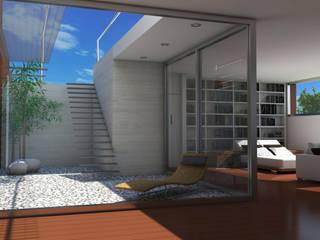 VILLAS EN DONOSTIA-SAN SEBASTIAN: Terrazas de estilo  de Itark Arquitectura y Urbanismo