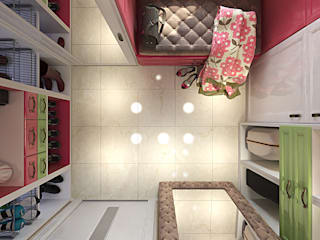 Eclectic style dressing rooms by Your royal design Eclectic