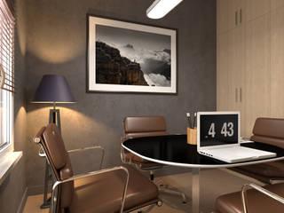 Salle de réunion: Bureau de style  par Agence KP
