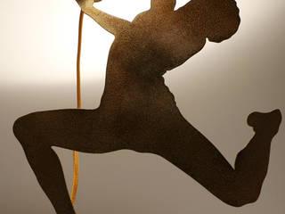 """Lampada da Tavolo orientabile Mod.010 PIERRE """"Il Ballerino"""":  in stile  di LOOK LIGHT ITALIAN DESIGN"""
