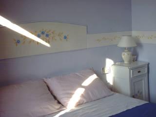 B&B CASALESSANDRI Camera da letto in stile mediterraneo di La Gigiotta Mediterraneo