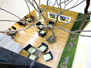 Moderne ziekenhuizen van 참공간 디자인 연구소 Modern