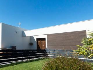 Vivienda Unifamiliar en Palencia Casas de estilo moderno de Rubén Sánchez Albillo. Arquitecto Moderno