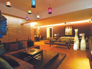 Modern Living Salon moderne par The Orange Lane Moderne