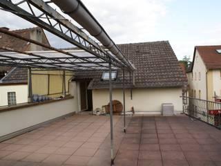Karl Kaffenberger Architektur | Einrichtung Eclectic style balcony, veranda & terrace