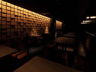 BAR BUNON Dinding & Lantai Modern Oleh mattch Modern