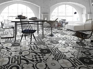 Salon moderne par Ceramiche Addeo Moderne