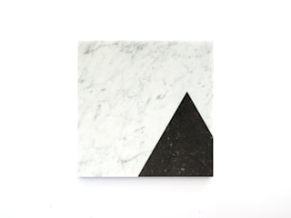 Marble platters to create your own edible scenes:   door Studio Jorrit Taekema