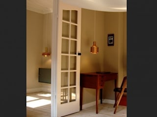 Flat, Copenhagen, Denmark Minimalist study/office by antonygibbondesigns Minimalist