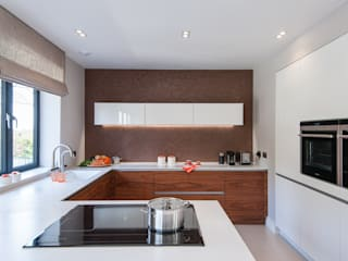 Contemporary open plan living Urban Myth Modern style kitchen