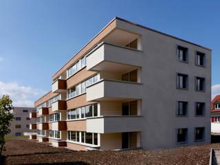 Wohnhaus Bahnhofstrasse Zeihen Moderne Häuser von alp - architektur lischer partner ag Modern