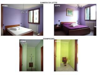 Camera da Letto e Disimpegno Notte:  in stile  di ALFA HOME STAGING