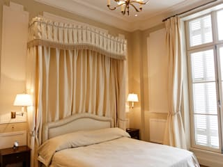 Oficina Inglesa Country style bedroom