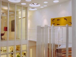 Soft Work | comercial Lojas & Imóveis comerciais modernos por ARQdonini Arquitetos Associados Moderno