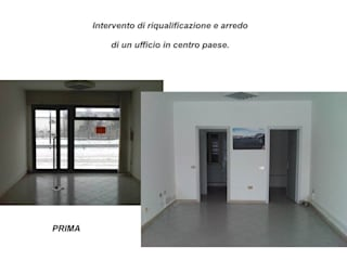 Locale ad uso Ufficio - Prima:  in stile  di ALFA HOME STAGING
