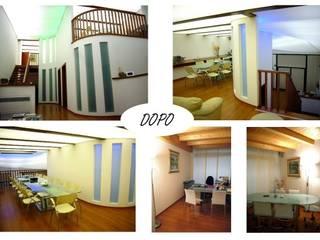 Creazione di Locali Direzionali - Rovigo Complesso d'uffici moderni di ALFA HOME STAGING Moderno