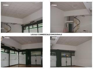 Creazione di Locali Direzionali - Rovigo Negozi & Locali commerciali moderni di ALFA HOME STAGING Moderno