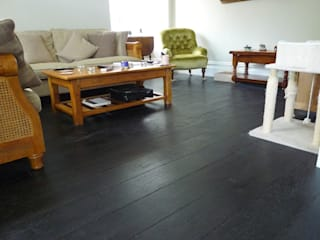 Project: Berkshire Townhouse:  Living room by Chaunceys Timber Flooring