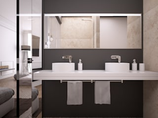 Minimalist style bathrooms by Onlydesign Minimalist