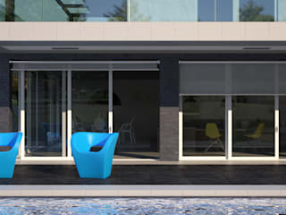 Pool House Case moderne di Onlydesign Moderno