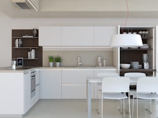 Icon Ernestomeda: Cucina in stile in stile Moderno di Onlydesign