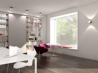 Architekturbüro Heidelberg:  Bürogebäude von Hage Architektur