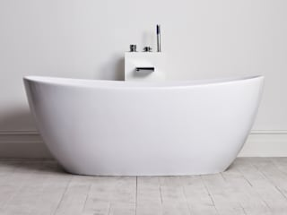 Lusso Stone Soho Stone Resin Solid Surface Freestanding Bath 1630:   by Lusso Stone