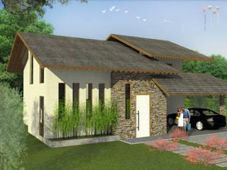 Maisons modernes par start.arch architettura Moderne
