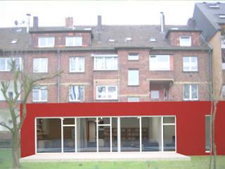 Neues Wohnen in Herne: moderne Häuser von Architekt Capkun