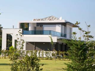 Kırmızı İnşaat - Çeşme 18 Villaları Akseki Yapı Modern Evler