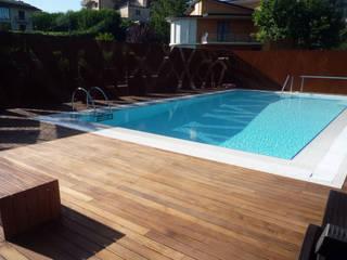 modern Pool by raffaele iandolo architetto