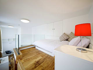 Student Accommodation - SW10 Ceetoo Architects Modern style bedroom