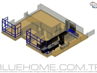 Modern Living Room by Blue Home Modern
