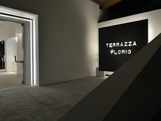 Terrazza Florio Spazi commerciali in stile minimalista di Reggiani SPA Illuminazione Minimalista
