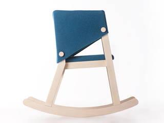 Ivetta rocking chair di giancarlo cutello Scandinavo