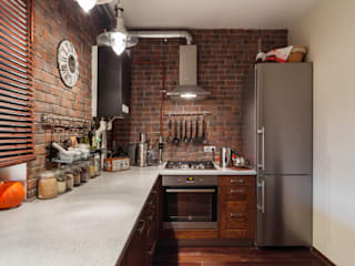 Industrial style kitchen by Ася Бондарева Industrial