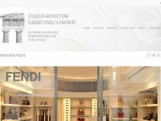 Claudio Stabile & Partners:  in stile  di Poligonilab