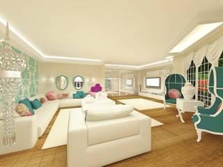 Feng Shui Uygulama Modern Oturma Odası Meral Akçay Konsept ve Mimarlık Modern