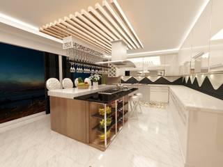 Modern Kitchen by Meral Akçay Konsept ve Mimarlık Modern