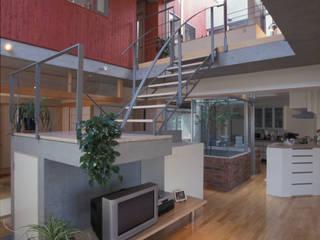 夏到来の家 オリジナルデザインの リビング の ジェイ石田アソシエイツ オリジナル
