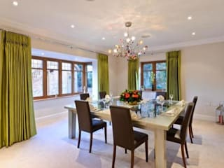 Project 10 Woldingham Flairlight Designs Ltd Salle à mangerEclairage