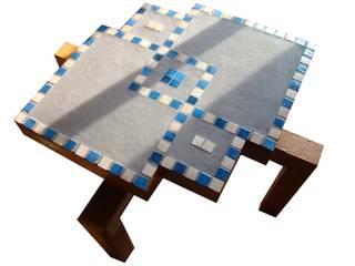 Table en carton mosaïque Tonk Art SalonAccessoires & décorations