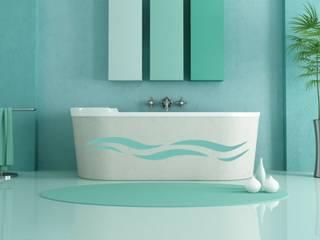 Mediterranean style bathrooms by designer-wandtattoos.de Mediterranean