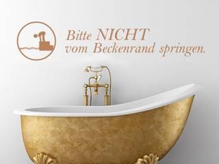 Modern Bathroom by designer-wandtattoos.de Modern