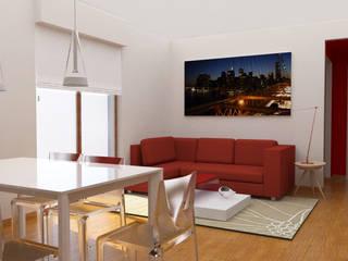 Luce e vivacità in un appartamento anni '80 di Dettaglidinterni Architettura, Interior Design e Home Staging