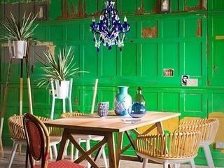 Squint Interiors Squint Limited Sala da pranzo moderna