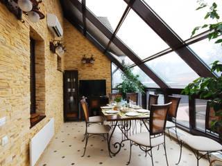 Jardines de invierno de estilo  por D&T Architects